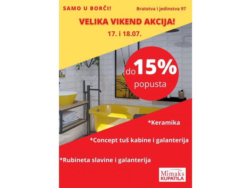 Velika vikend akcija u salonu u Borči!