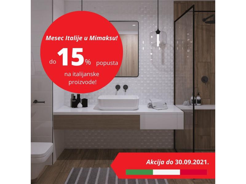 Mesec Italije u Mimaksu-na akciji u septembru italijanski proizvođači!