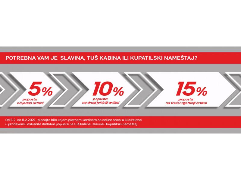 Vikend akcija popust do 15%