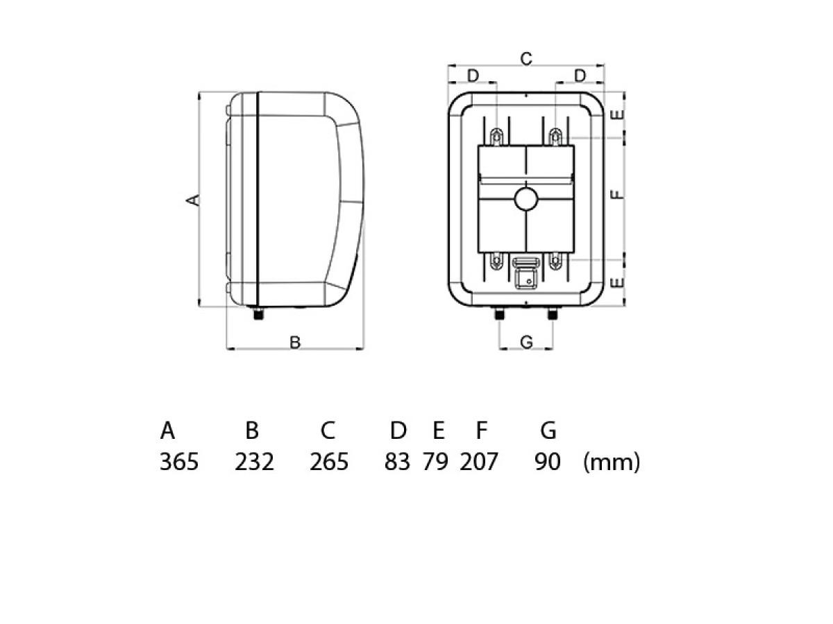 TERMORAD BOJLER BTN 5L NM PVC