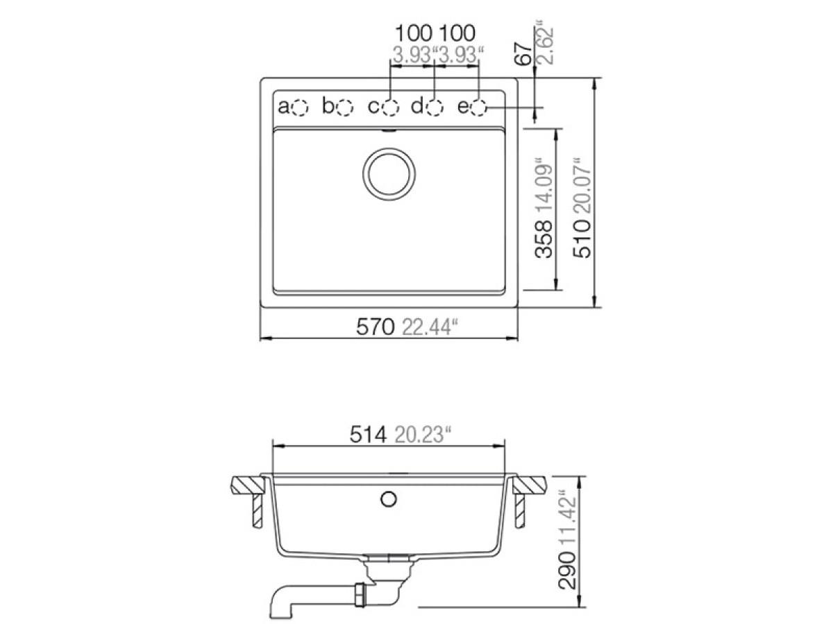 SCHOCK SUDOPERA NEMO N100 570x510x180mm SABBIA (PESAK)