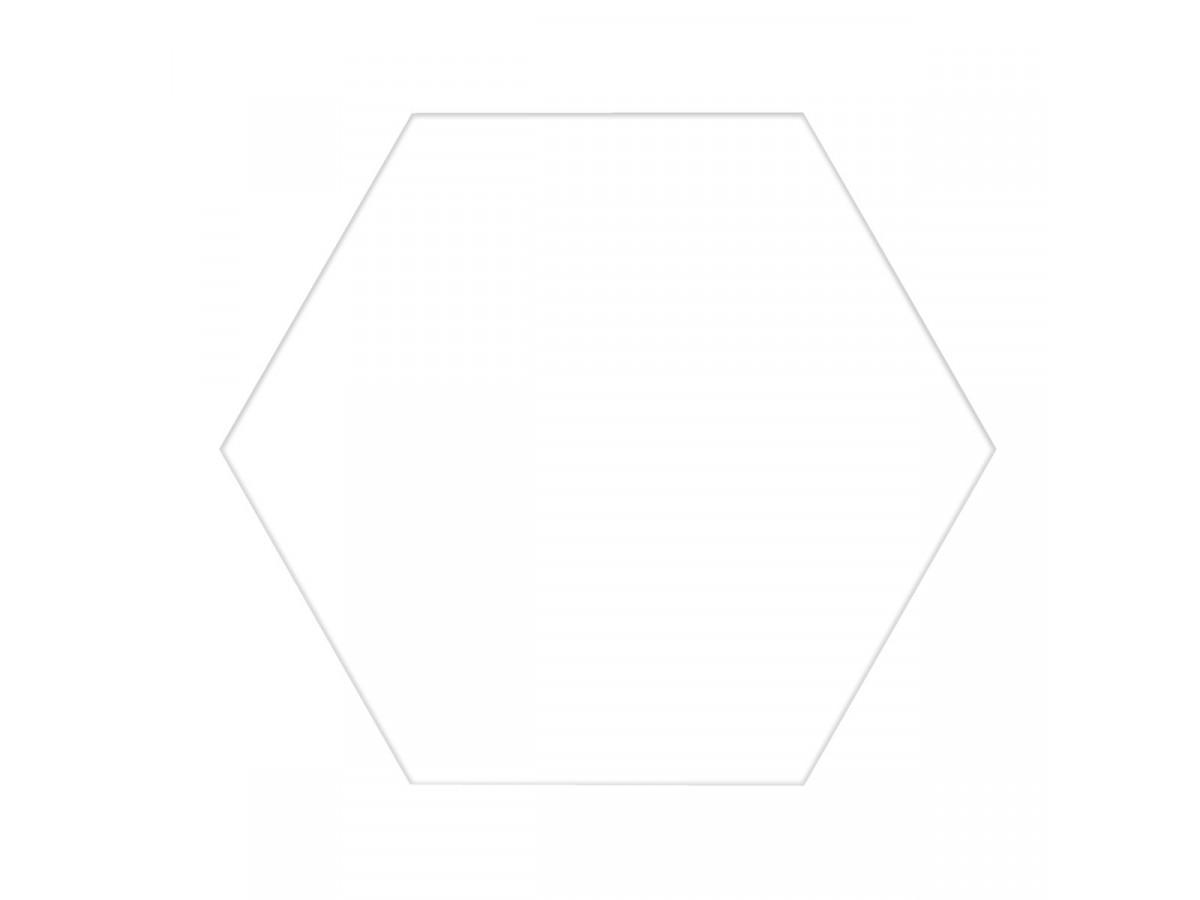 SA HEX. BASIC WHITE 25X22, 1.04m2