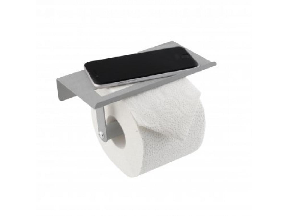 Axentia Držač toaletnih rolni sa policom 4005437227095