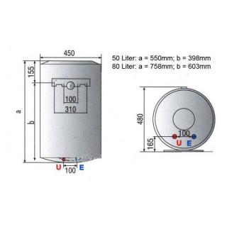ARISTON 50L PRO R 50 V2K