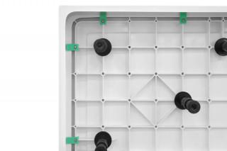 CONCEPT Oplata SOLILUX za kadicu  i 9 nogica set 800x800 i 900x900 C-11-S9800/S9900