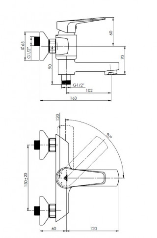 RUBINETA DELI-10(K) (SW) D1PK08