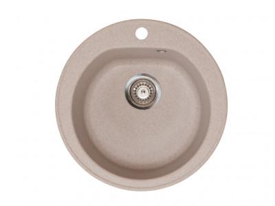Kvarcna sudopera X Granit- Venera E510/180 fi 90 sa sifonom BEIGE    113004