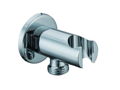 ARMAL KRUZNI HROM SHOWER HOSE WALL OUTLET ELBOW CONNECTOR PJ02
